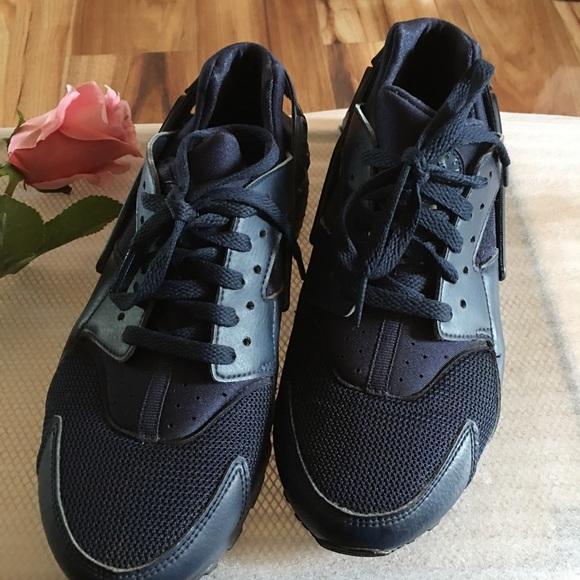 Nike Shoes   Huarache Run Big Kids Navy